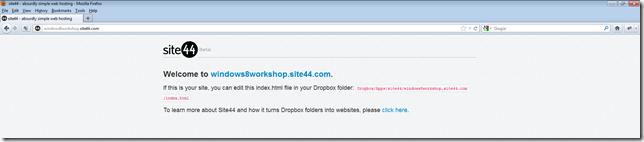 Website Default Page