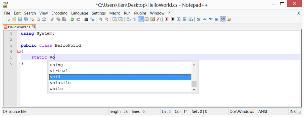 how to see crlf in notepad++
