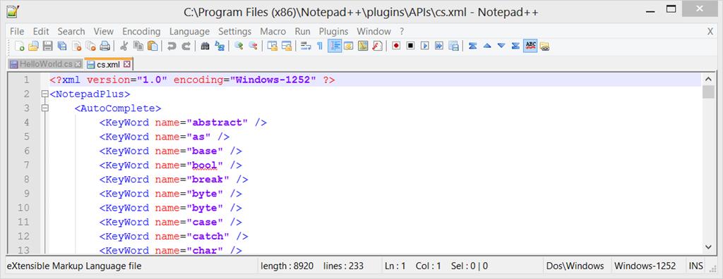 Using Notepad++ to write C# code   Ken Cenerelli