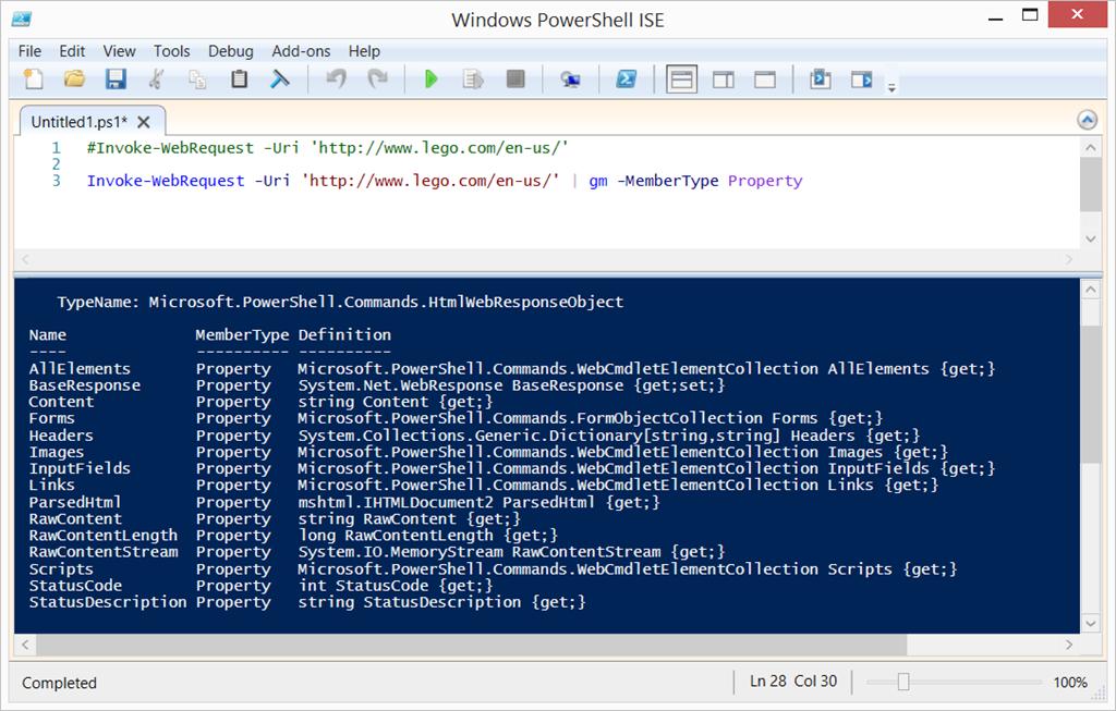 PowerShell: Invoke-WebRequest and URL links   Ken Cenerelli