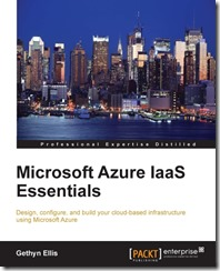 Microsoft Azure IaaS Essentials book cover
