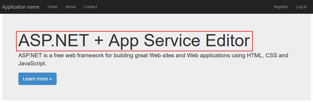 Understanding the Azure App Service Editor | Ken Cenerelli