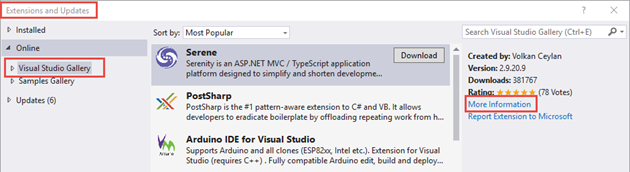 Visual Studio Marketplace replaces Visual Studio Gallery | Ken Cenerelli