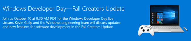 Windows 10 Developer Day